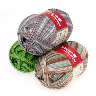 троицкая носочная пряжа водопад купить пряжу для вязания носков